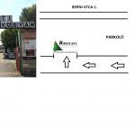 Berni utca belső térkép
