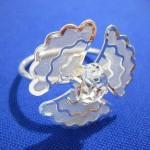 Szalvéta gyűrű 52