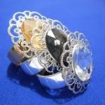 Szalvéta gyűrű 55